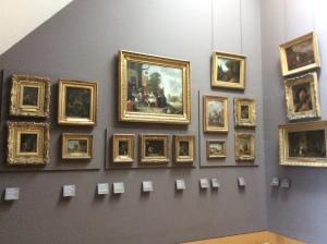 """Museografía """"retro"""" del Louvre"""