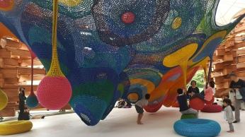 Instalación para niños. Hakone Open Air Museum