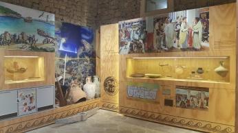 Sala Romana Museo Historia Manacor