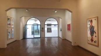 Vista de la galeria Xavier Fiol expo Susuz