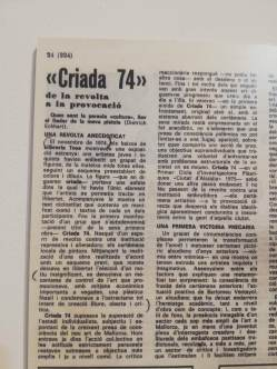Retrospectiva CRIADA 74