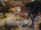 Belén de Cristo Rey en la Iglesia de Es Vivero